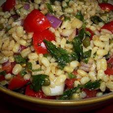 Barley Salad with Lemon and Mint
