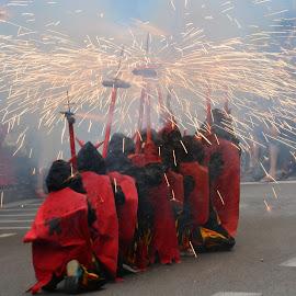 Correfoc by Josep Vallès - News & Events Entertainment ( gracia, festa, correfoc, barcelona, catalunya )