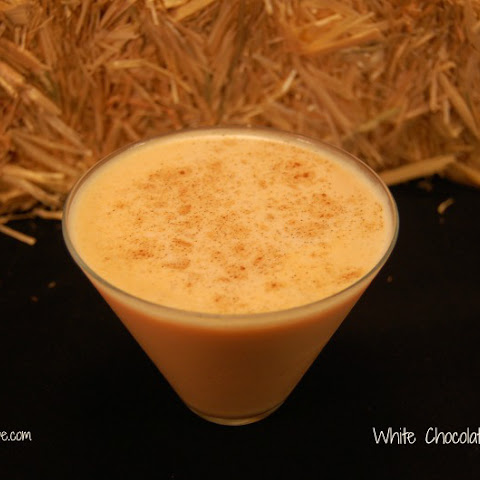 White Chocolate Pumpkintini