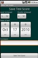 Screenshot of Bleep Test 20-15