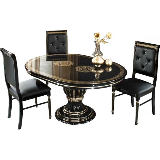 acheter vitrine 1 porte versace pantin chez pantin meubles dilengo. Black Bedroom Furniture Sets. Home Design Ideas