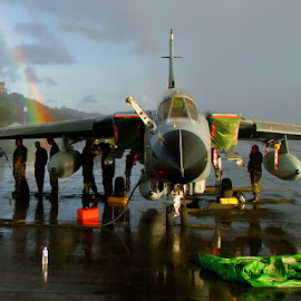 Taking cover by Phil Collins - Transportation Airplanes ( storm, raf, rainbow, tornado )