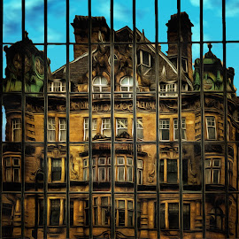 Relection #1 by Robert Wake - Buildings & Architecture Office Buildings & Hotels (  )