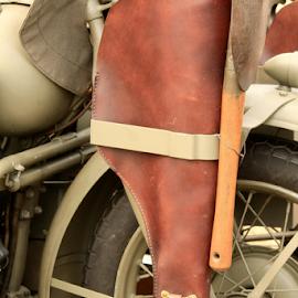 lone ranger by Aaron Stephenson - Transportation Motorcycles ( ww2, vintage, restore, holster )