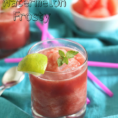 Watermelon Frosty