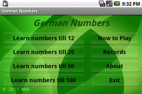 Learn German Numbers Free