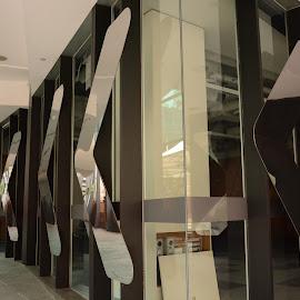 That Way by Nimit Rastogi - Buildings & Architecture Other Exteriors ( arrows, building, exterior, arrow, path )