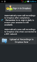 Screenshot of Call Recorder Deluxe Free