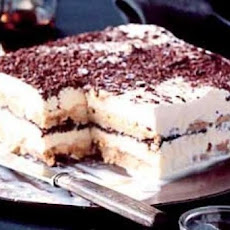 Kahlua Tiramisu with Amaretto Ice Cream