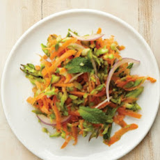 Asparagus and Carrot Slaw