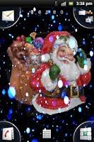 Screenshot of 3D Santa Snow Live Wallpaper
