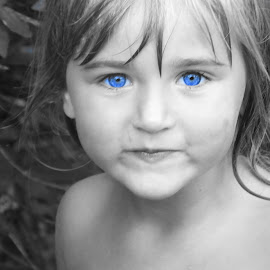 by Rachelle MacDonald - Babies & Children Child Portraits ( selective color, pwc )