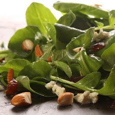 Watercress and Arugula Salad with Blue Cheese, Dates, and Almonds Recipe