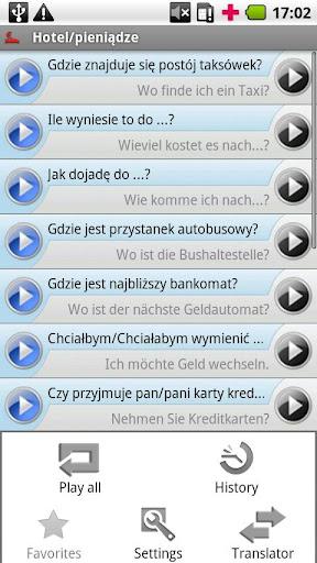 iSayHello 波兰语 - 德语