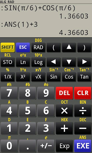 PG Calculator Standard