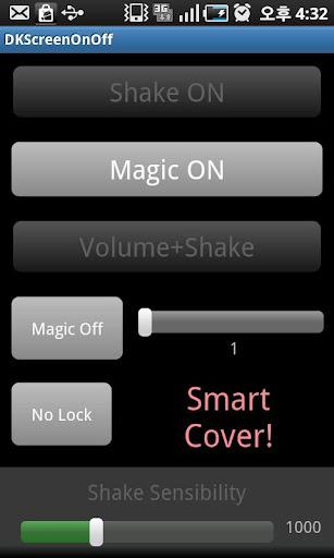 DK Screen OnOff Smart Cover