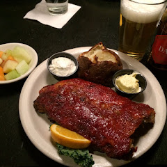 Awesome ribs with gf beer!