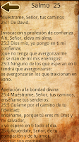 Screenshot of Spanish Catholic Prayer Book
