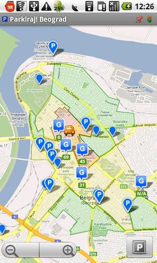 Parkiraj Beograd PS