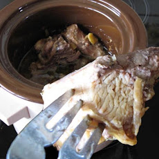 Succulent Leg of Lamb for the Slow Cooker / Crock-Pot