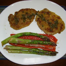Boneless Pork Chops Milanese