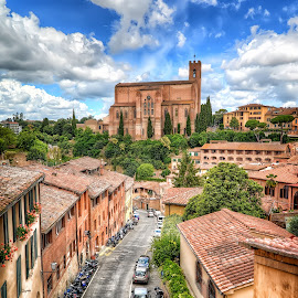 Siena by Cristian Peša - City,  Street & Park  Historic Districts