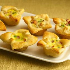 Onion-Cheese Custard Tartlets