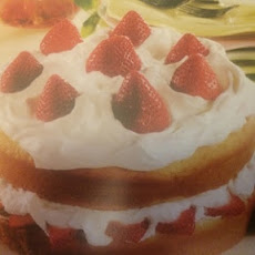 Family-Size Strawberry Shortcake