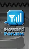 Screenshot of The HowardForums App