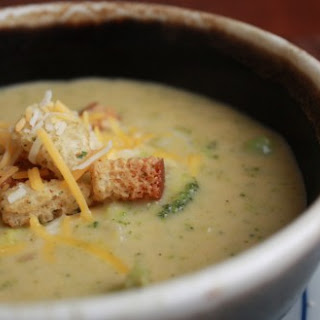 Broccoli White Cheddar Soup Recipes