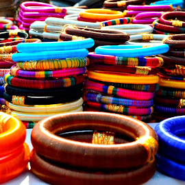 Colorful Bangles  by Subal Soral - Artistic Objects Clothing & Accessories ( bangles,  )