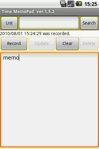 Time MemoPad