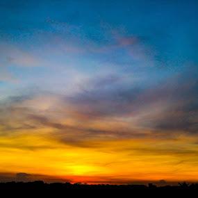 Sunset by Topu Saha - Landscapes Sunsets & Sunrises ( bangladesh, sunset, twilight, evening, dusk, sun, dhaka,  )