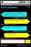 Screenshot of Echo Messenger