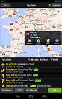 Screenshot of CoPilot Premium Western Europe