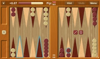 Screenshot of Backgammon NJ for Android