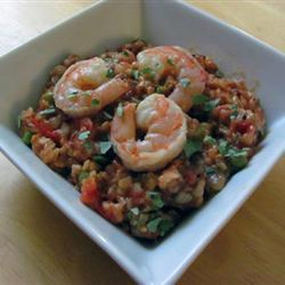 Cuban Prawn Rice Stew (Asopao)