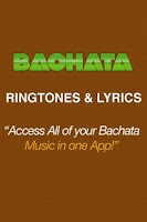 Screenshot of Get Bachata Ringtones