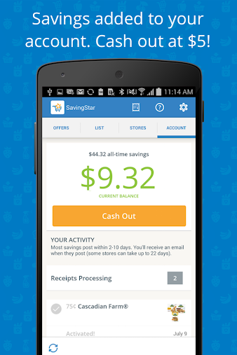 SavingStar - Grocery Savings APK