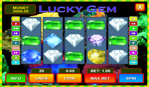 lucky gem casino free coins