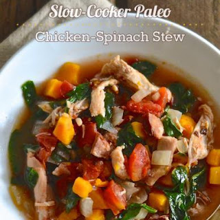 Paleo Chicken-Spinach Stew