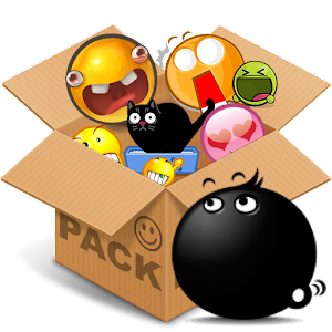 Emoticons pack, The Blacks
