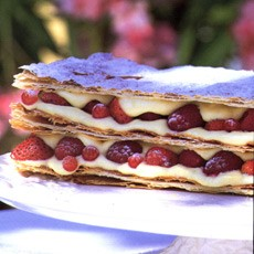 Summer Fruit Millefeuille