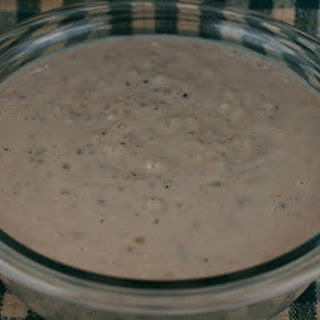 Chocolate Almond Tapioca Pudding Slow Cooker
