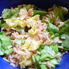 Easy Rice Salsa Salad