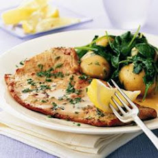 Veal Escalopes With Herbs