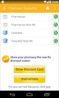 Screenshot of Pharmacy Discounts