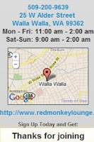 Screenshot of Red Monkey Lounge Walla Walla