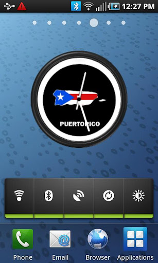 Puerto Rico Clock Widget