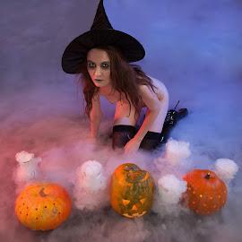 Halloween by Meelis Adamson - Nudes & Boudoir Artistic Nude